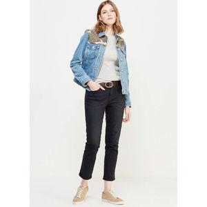 Gap Washed Black Best Girlfriend Jeans NWT Size 26